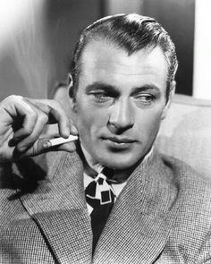 Gary Cooper. Smoke 'em if you've got 'em.