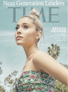 Ariana Grande brands Manchester attack as the 'worst of humanity' - Interview Manchester Bombing, Manchester Attack, Ariana Grande Photoshoot, Ariana Grande 2018, Blonde Bun, Vogue Covers, Time Magazine, Magazine Covers, Hair