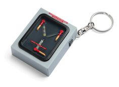 Itti bttf flux capacitor light up keychain