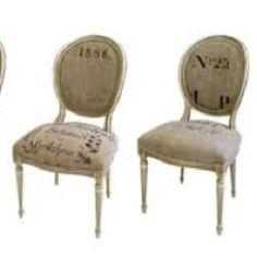 More hessian sack chairs