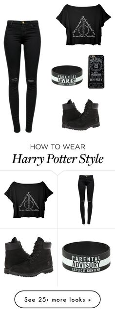 """""""Untitled #120"""" by carina-vns on Polyvore featuring moda, J Brand y Timberland"""