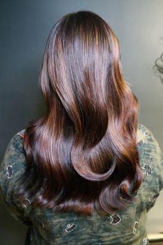 Brunettes, Long Hair Styles, Beauty, Hair, Long Hairstyle, Long Haircuts, Long Hair Cuts, Beauty Illustration, Brown Hair