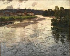 Frits Thaulow -La Dordogne 1903  Wikipedia, the free encyclopedia