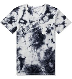 Shades of Grey by Micah Cohen White/Black Tie-Dye S/S Pocket Tee | HYPEBEAST Store ($33.00) - Svpply
