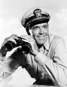 "Henry Fonda in ""Mister Roberts"""