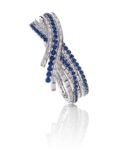 Harry Winston's sapphire and diamond 'River' bracelet