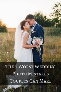 Out of all of the things you'll spend money on for your wedding day, the photos are probably the most important. After all, you'll be looking at these pictures for years to come, so you want to be happy with the final results. Before you book your photographer and start practicing your poses in the mirror, check out these common mistakes that can ruin your wedding photos.