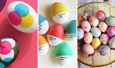 Genius! 40 Creative Ways to Decorate Easter Eggs | Brit + Co.