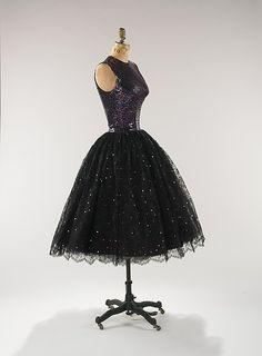 Evening dress, 1955   Norman Norell   American   The Metropolitan Museum of Art