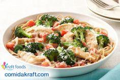 Mil Recetas para Ti: Pasta con pollo y brócoli a la parmesana KRAFT