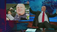Jon Stewart can't even deal with Rob Ford's comment