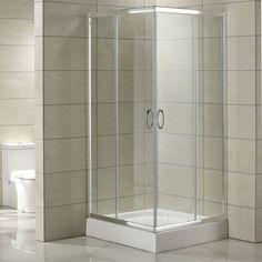 """34"""" x 34"""" Torres Corner Double Door Shower Enclosure $580"""