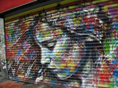 Street art is an umbrella term defining various forms of visual art created in public locations. Stencil graffiti, wheatpasted poster art or sticker art, and 3d Street Art, Street Art Utopia, Amazing Street Art, Amazing Art, Street Artists, Graffiti Art, Best Graffiti, Banksy, Photo D Art