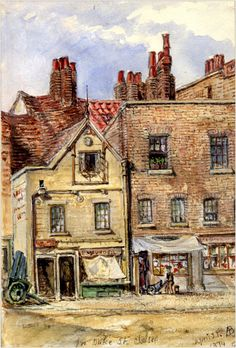 Alice Boyd, Maunder's fish shop, 72 Cheyne Walk.