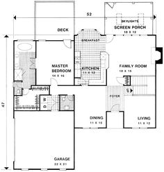 Plan 20001GA: European Stucco Design