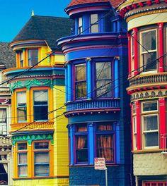 """San Francisco - """"Painted Ladies"""""""