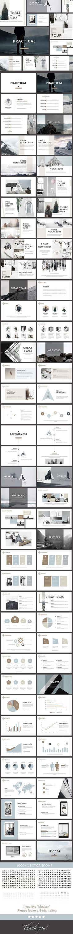 Practical - Clean PowerPoint Presentation - Creative PowerPoint Templates