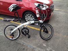 Atomic folding bike