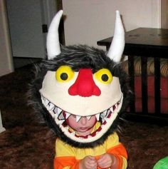 A Wild Thing from Where The Wild Things Are. | 21 Awesome Kids' Halloween Costumes To Start Making Now