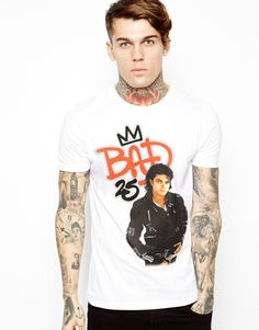 ASOS T-Shirt With Michael Jackson Print