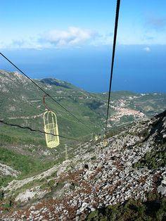 Cabinovia per il Monte Capanne - Isola d'Elba - Toscana