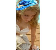 Maui Island Mermaid Headband For your little mermaid by InArtStudio2