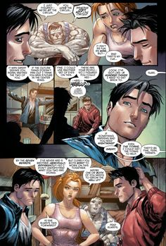 Jason Todd asks Dick Grayson for help - Part 6