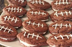 I think these would be good as ice cream sandwiches... I think I will make these as a surprise dessert for Superbowl Sunday!