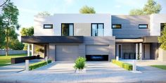 DOM.PL™ - Projekt domu CPT HomeKONCEPT-52 B2 CE - DOM CP1-63 - gotowy koszt budowy Home Fashion, Mansions, House Styles, Home Decor, House Architecture, Decoration Home, Manor Houses, Room Decor, Villas