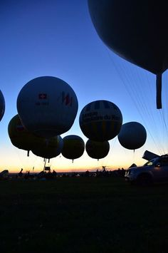 competición de globos aerostaticos de gas