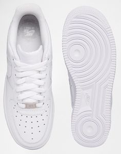Enlarge Nike Air Force 1  07 White Trainers Air Force 1 93661c31d5