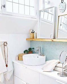 Inspiração para um banheiro lindo clean e organizado