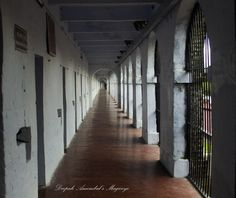 Row of cells, Cellular jail, Port Blair, Andaman Cellular Jail, Port Blair, Andaman And Nicobar Islands, The Row, Stairs, Magic, India, Explore, Travel
