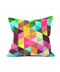 Modèle Huit Throw Pillow by DENY Designs