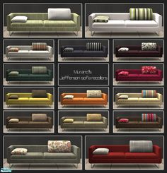 I still have the recolors to go with the sofa Murano made me some time ago ;) Found in TSR Category 'Objects' The Sims, Sims Cc, Sims 4 Houses, Sofa, Living Rooms, Boards, Furniture, Lounges, Planks