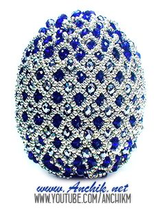 Пасхальное яйцо из бисера (Видео МК)   biser.info - всё о бисере и бисерном творчестве