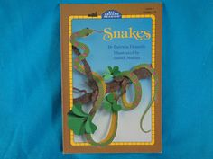 vintage 1993 Snakes by Patricia Demuth an All Aboard Reading book Level 2 Grades 1 - 3 by TheVintageKeepers on Etsy