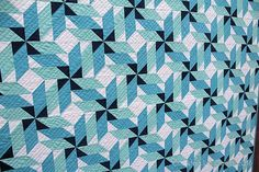 Spinning - A Fun Quilt Pattern in multiple sizes