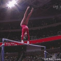 GIF: That ending. At least she stuck the landing.