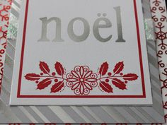 Hand Made, Christmas, Greeting, Cards, Noel by LibbysCraftStudio on Etsy