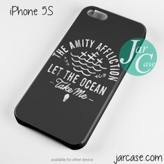 The Amity Affliction Let The Ocean Take Me Phone case for iPhone 4/4s/5/5c/5s/6/6 plus