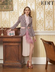 Olivia Palermo opens up about her style and history in a new interview with The Edit.