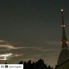"""""""Ore 6.55, la luna tramonta"""" Torino raccontata da giannigiak per #inTO"""
