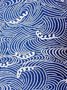 Japanese print fabric