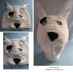 Great Dane Hat Crochet Pattern