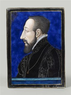 HENRI II king of France PROVENANCE Leonrd Limousin, before 1559, Louvre, photo RMN