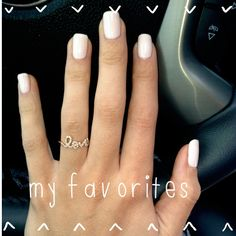 POLISHED AND PRETTY | Emily Maynard's favorite nude nail polish colors
