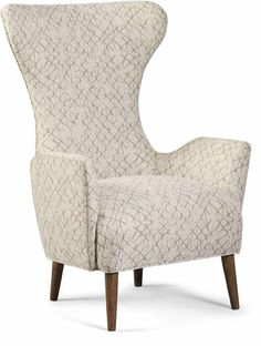 ART Furniture - Epicenters Austin Cream Colvin Chair - 535538-5001AA Walnut Chair, Metal End Tables, Chair And A Half, Exposed Wood, Wing Chair, High Quality Furniture, Art Furniture, Occasional Chairs, Seat Cushions