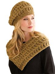 Madeleine Knit Pattern (hat and cowl) - $5.99
