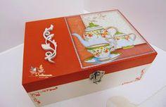 Dartemimos: Uma caixa para guardar os seus chás favoritos!